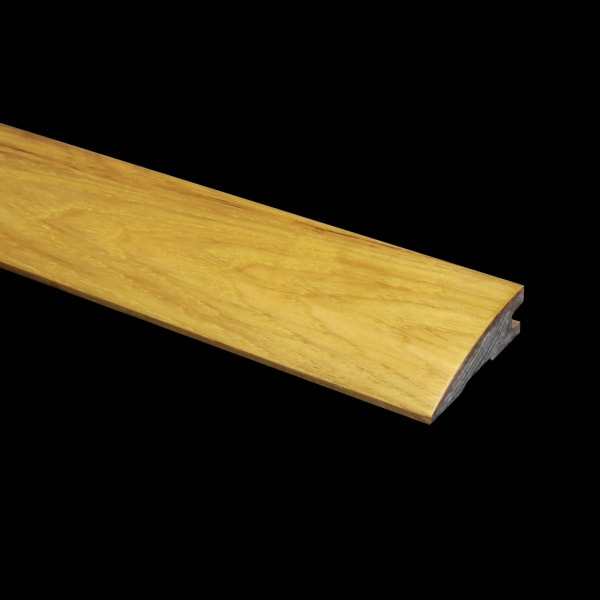 Prefinished Hickory Hardwood 3/4 in thick x 2.25 in wide x 6.5 ft Length Reducer