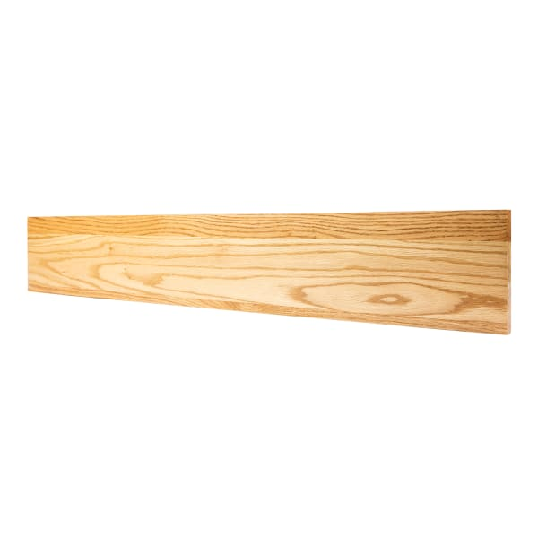 Prefinished Red Oak Solid Hardwood 3/4 in thick x 7.5 in wide x 48 in Length Riser