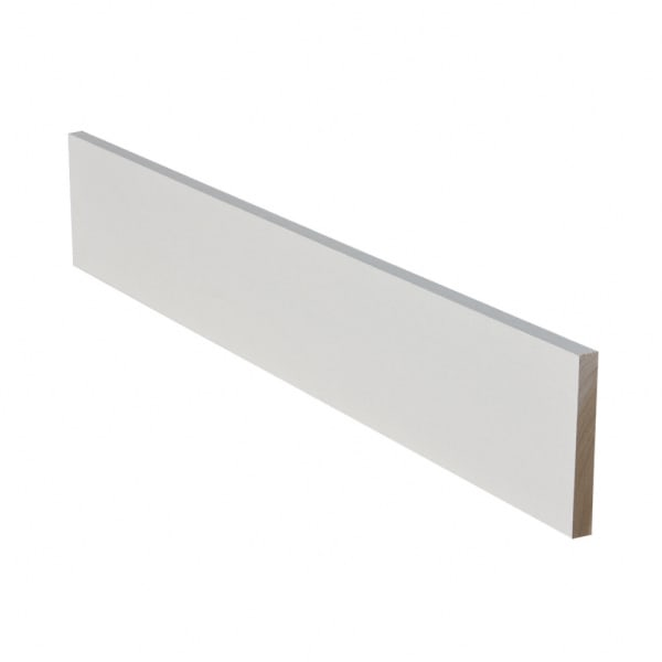 Prefinished Primed Poplar Solid Hardwood 3/4 in thick x 7.25 in wide x 48 in Length Riser