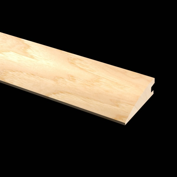 Prefinished Hickory Quick Click Hardwood 1/2 in thick x 2 in wide x 6.5 ft Length Reducer