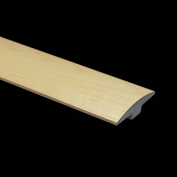 Prefinished Maple Hardwood 5/8 in thick x 2 in wide x 6.5 ft Length T-Molding