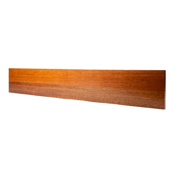 Prefinished Brazilian Cherry 3/4 in thick x 7.5 in wide x 48 in Length Riser