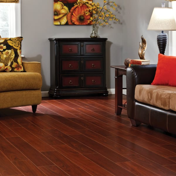 10mm+pad Boa Vista Brazilian Cherry Laminate Flooring