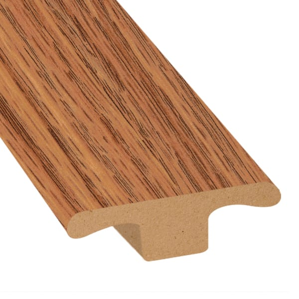 Cinnabar Oak Laminate 1 75 In Wide X 7 5 Ft Length T Molding Ll Flooring