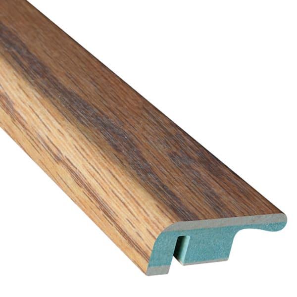 Flooring Trim Butterscotch Oak Laminate 1.374 in wide x 7.5 ft Length End Cap