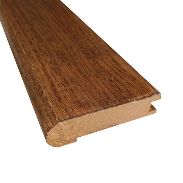 Prefinished Summer Harvest Hardwood 3/4 in thick x 3.125 in wide x 78 in Length Stair Nose