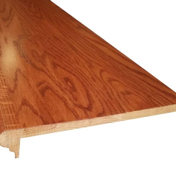 Prefinished Gunstock Oak 5/8 in thick x 11.5 in wide x 36 in Length Retro Fit Tread