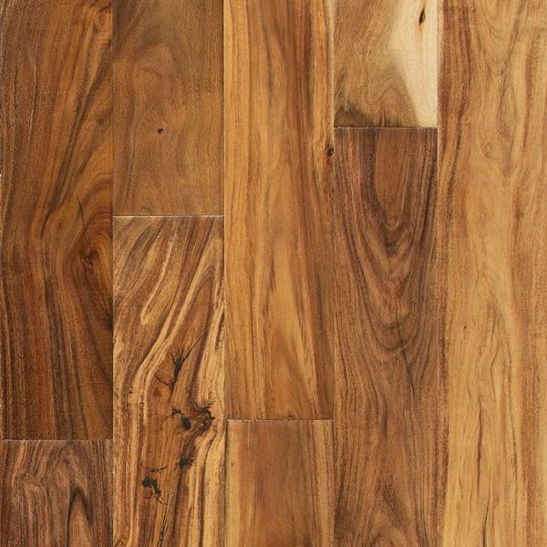 7/16 in. x 4.75 in. Tobacco Road Acacia Easy Click Engineered Hardwood Flooring