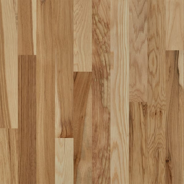 3/4 in. x 2.25 in.  Millrun Hickory Solid Hardwood Flooring