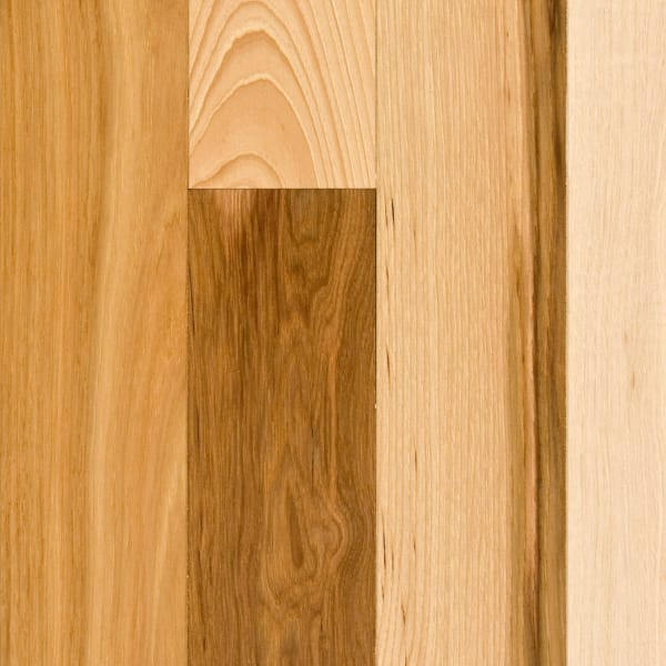 3/4 in. x 3.25 in.  Millrun Hickory Solid Hardwood Flooring