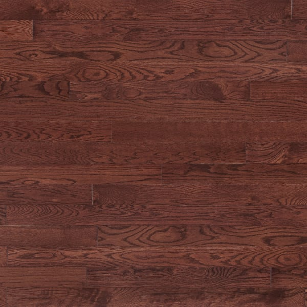"""3/4"""" x 3-1/4"""" Cherry Oak Prefinished Stained Solid Hardwood Flooring"""