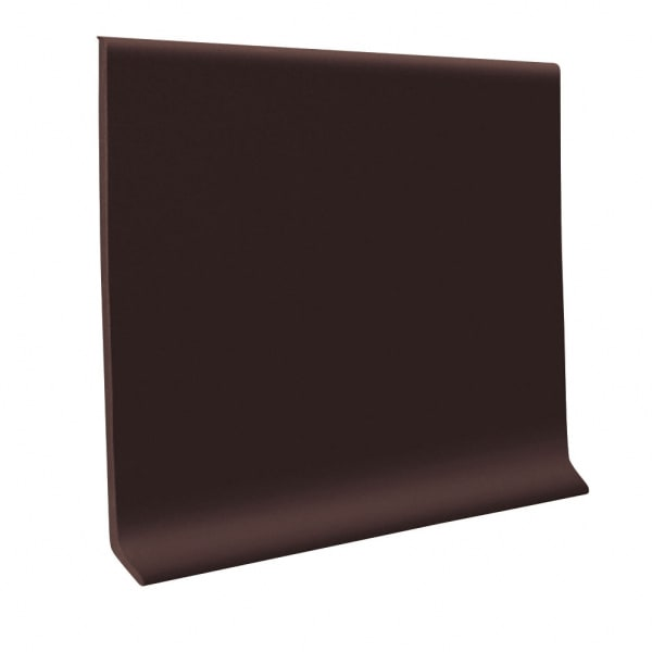 Vinyl Baseboard - Brown - 4 in