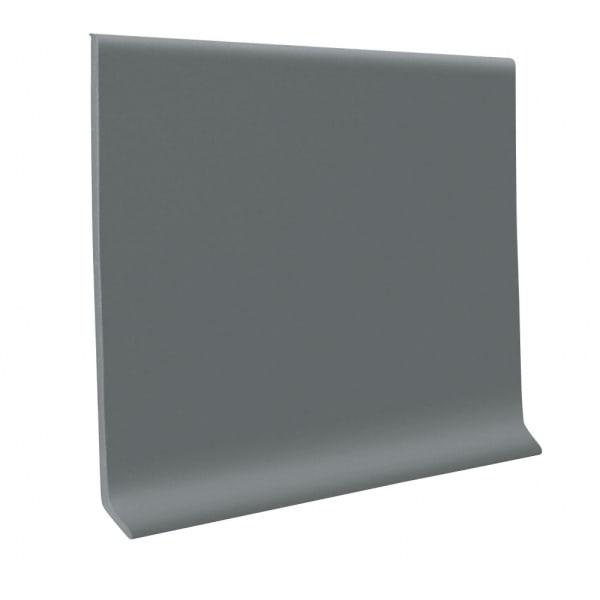 Dark Gray Vinyl Waterproof 4 in wide x 120 ft Length roll Vinyl Wall Base