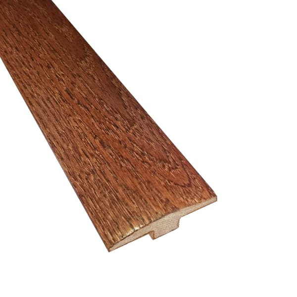 Prefinished Cherry Oak Hardwood 5 8 In Thick X 2 In Wide X 6 5 Ft Length T Molding Ll Flooring