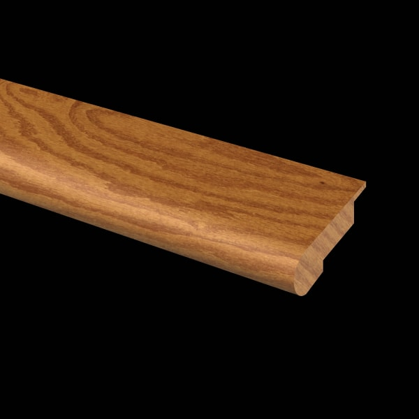 Prefinished  Hardwood Butterscotch Quick Click Overlap Stair