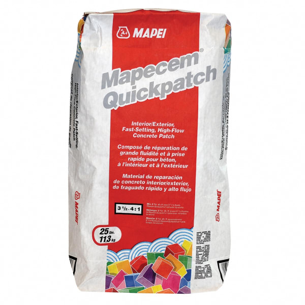 Mapei- High Performance Concrete Patch 25 lbs