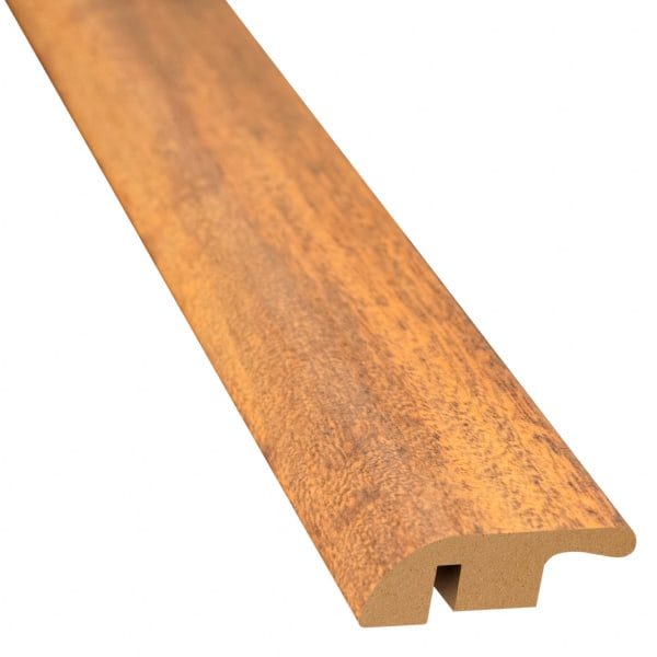 Bronzed Brazilian Teak Laminate 1.56 in wide x 7.5 ft Length Reducer