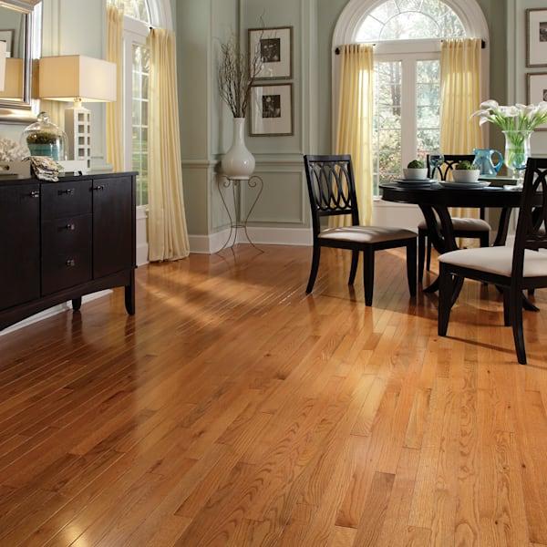 3/4 in. x 2.25 in. Butterscotch Oak Solid Hardwood Flooring