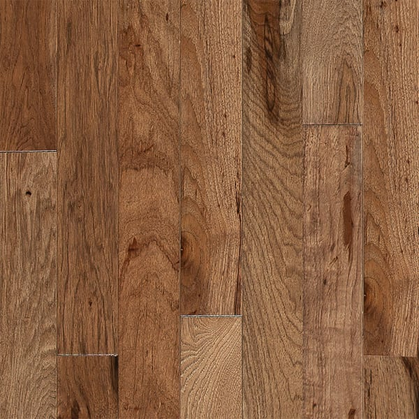 3/4 in. x 3.25 in. Walnut Hickory Solid Hardwood Flooring