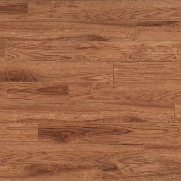 10mm+pad Crystal Springs Hickory Laminate Flooring