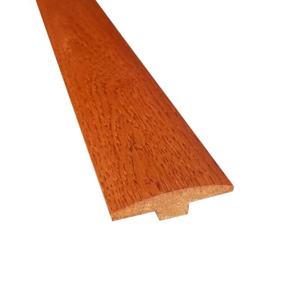 Prefinished Butterscotch Hardwood 1/4 in thick x 2 in wide x 78 in Length T-Molding