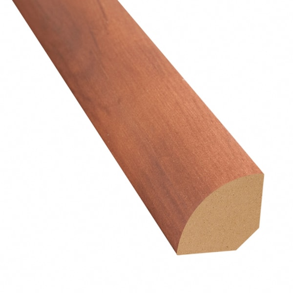 King Country Oak Vinyl 1.075 in wide x 7.5 ft Length Quarter Round