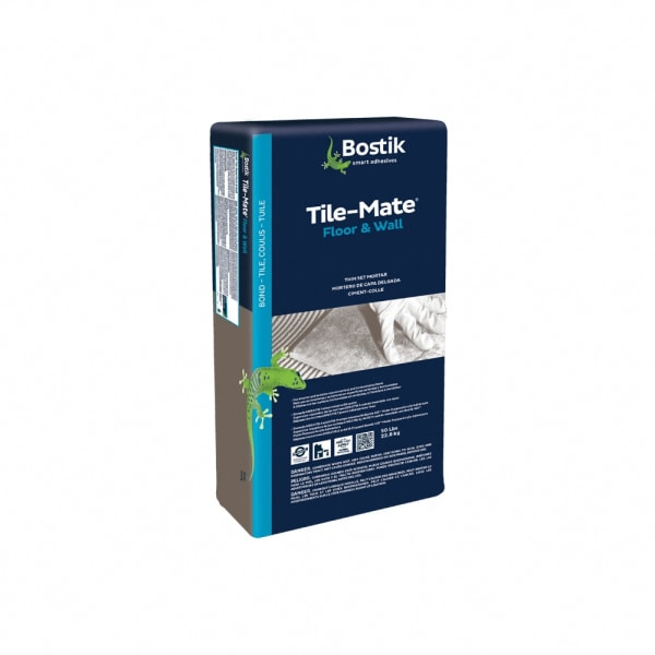 Bostik TileMate Floor and Wall Thin Set Mortar -Gray