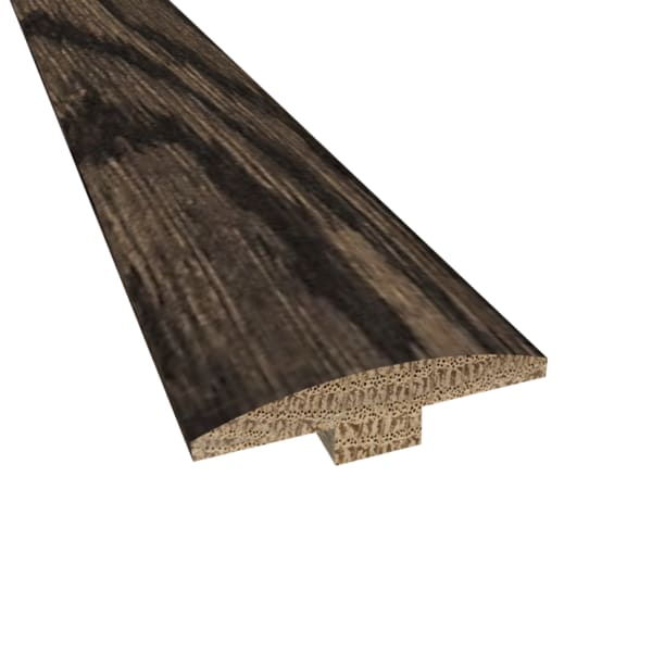 Prefinished Beartooth Mountain Hardwood 1/4 in thick x 2 in wide x 78 in Length T-Molding