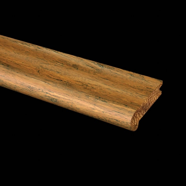 Prefinished Honey Strand Bamboo 1 in thick x 1.875 in wide x 14.75 in Length Retro Fit Return