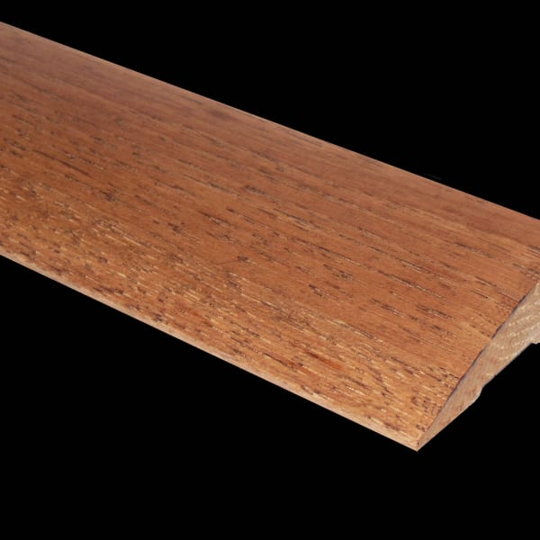 Prefinished Walnut Hickory Hardwood 3/4 in thick x 2.25 in wide x 78 in Length Reducer