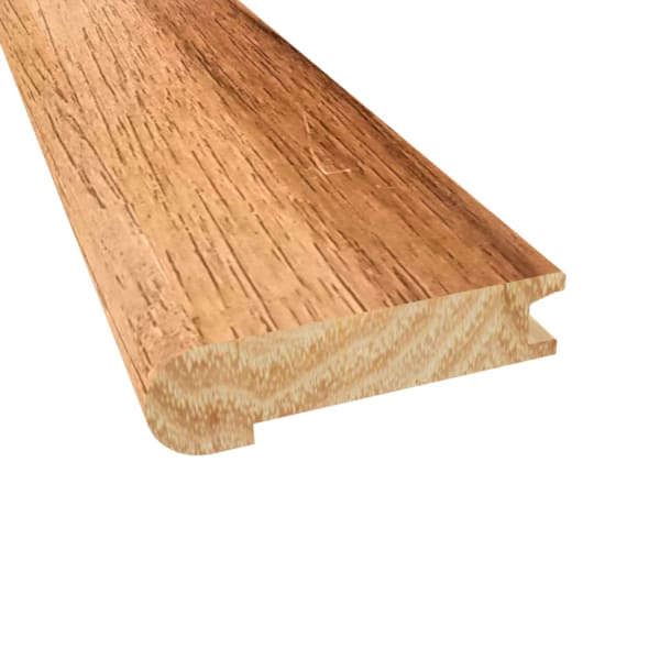 Prefinished Walnut Hickory Hardwood 3 4 In Thick X 3 125 In Wide X 78 In Length Stair Nose Ll Flooring