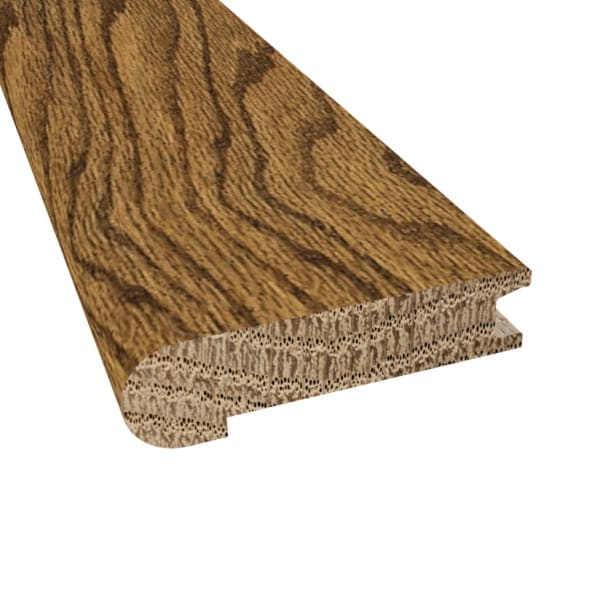 Prefinished Paradise Valley Oak Hardwood 3/4 in thick x 3.125 in wide x 78 in Length Stair Nose