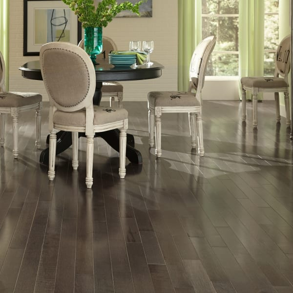 Iron Hill Maple Character Solid Hardwood Flooring in Dining Room