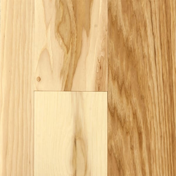 3/4 in. x 5 in. Matte Hickory Natural Solid Hardwood Flooring