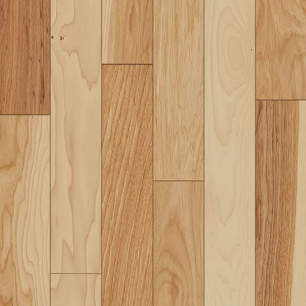 3/4 in. x 3 in. Natural Hickory Solid Hardwood Flooring