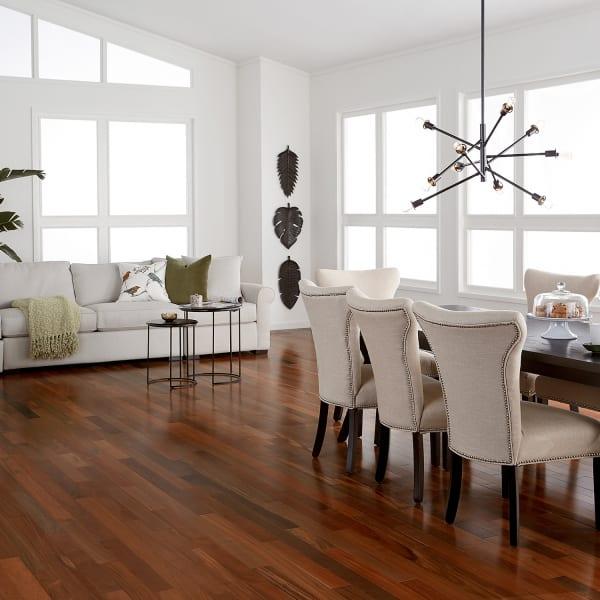 3/4 in. x 3 1/4 in. Brazilian Walnut Solid Hardwood Flooring