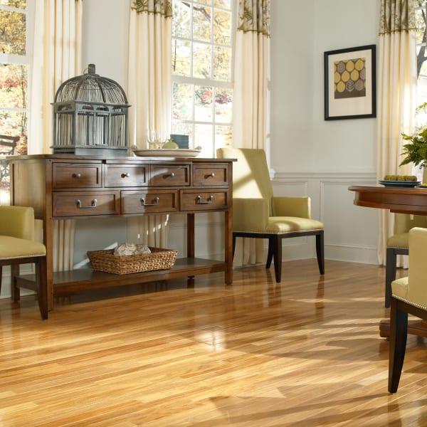 .75 in. x 2 .25 in. Tamboril Solid Hardwood Flooring in Living Room