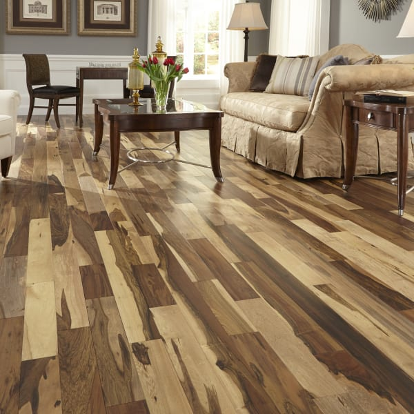 Matte Brazilian Pecan Natural Solid Hardwood Flooring