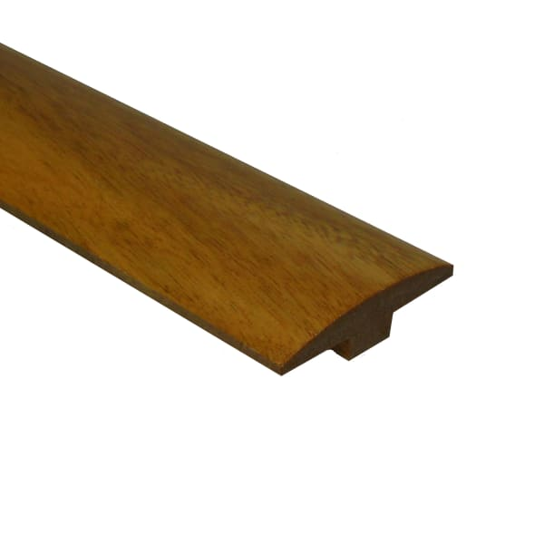 Prefinished Golden Teak Tamboril 1/4 in thick x 2 in wide x 78 in Length T-Molding