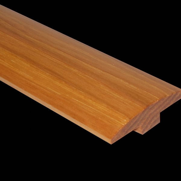 Prefinished Hickory Hardwood 1/4 in thick x 2 in wide x 78 in Length T-Molding