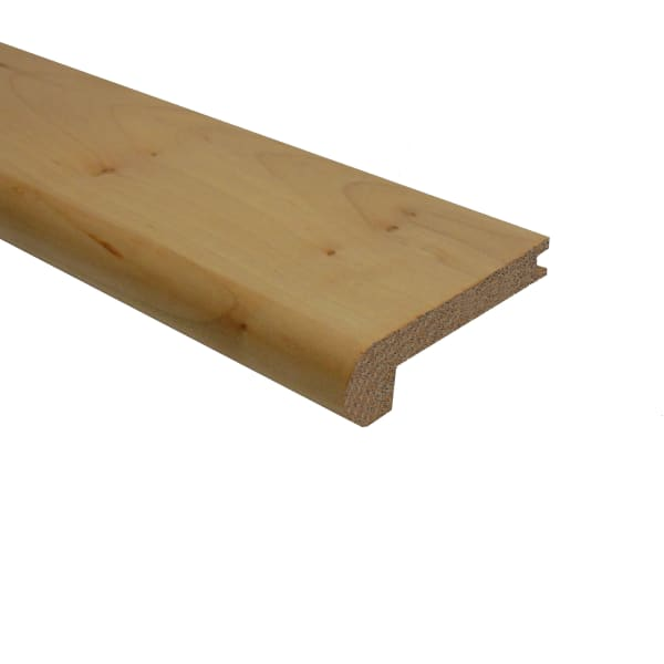 Prefinished Maple Hardwood 3/8 in thick x 2.75 in wide x 78 in Length Stair Nose