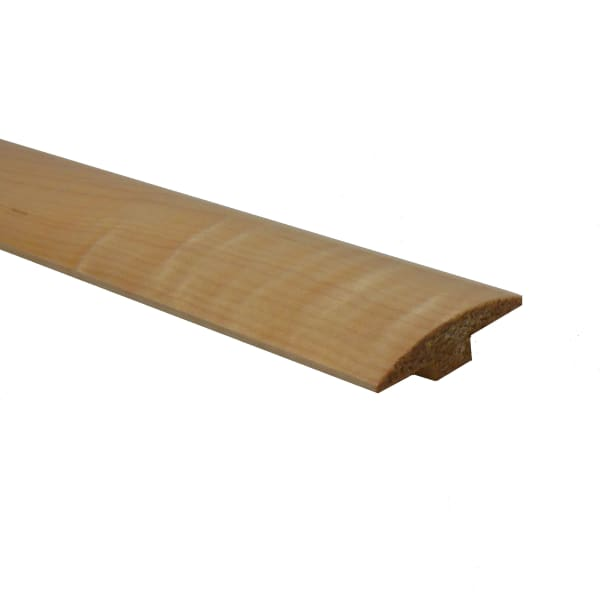 Prefinished Maple Hardwood 1/4 in thick x 2 in wide x 78 in Length T-Molding