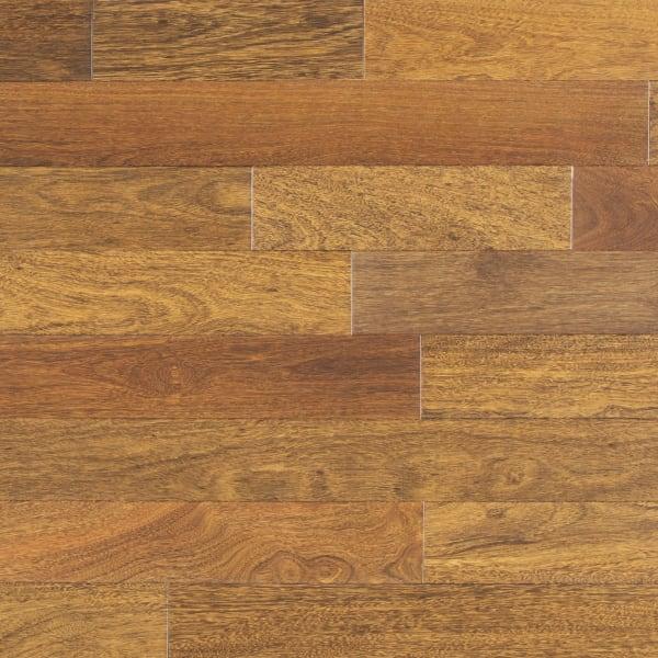 .75 in. x 5 in. Matte Brazilian Chestnut Solid Hardwood Flooring Large Swatch