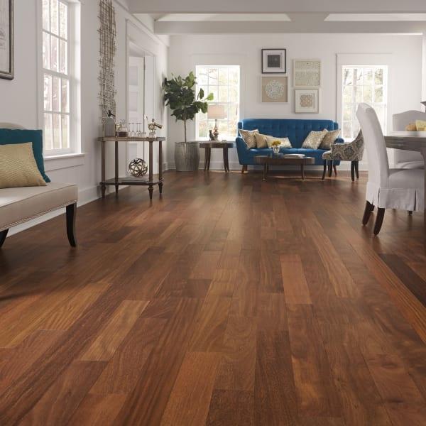 3/4 in. x 5 in. Matte Brazilian Chestnut Solid Hardwood Flooring