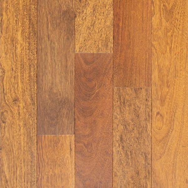 .75 in. x 5 in. Matte Brazilian Chestnut Solid Hardwood Flooring Small Swatch