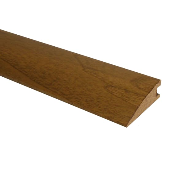 Prefinished Matte Brazilian Pecan Hardwood 3/4 in thick x 2.25 in wide x 78 in Length Reducer