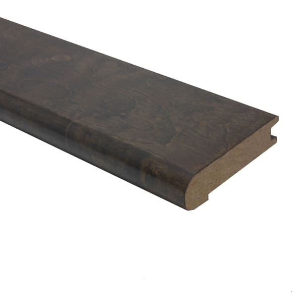 Prefinished Iron Hill Maple Hardwood 3/4 in thick x 3.125 in wide x 78 in Length Stair Nose
