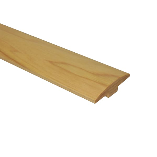 Prefinished Matte Hickory Hardwood 1/4 in thick x 2 in wide x 78 in Length T-Molding
