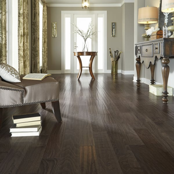 Capstone Beech Engineered Hardwood Flooring in Entryway