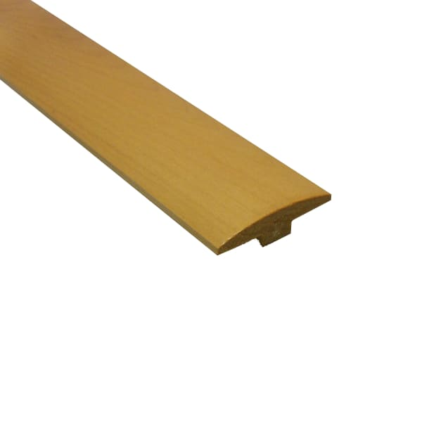 """1/4"""" x 2"""" x 78"""" Natural Maple T-Molding"""